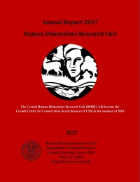 2017 HDRU Annual Report Cover